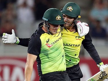 Trans Tasman T20 tri-series: Australia complete record run chase to beat New Zealand and remain unbeaten in series