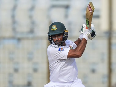 Bangladesh captain Mohammad Mahmudullah confident of his side winning the second Test . AFP