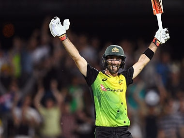Trans-Tasman T20 Tri-Series: Glenn Maxwell's all-round show helps Australia seal a five-wicket win over England