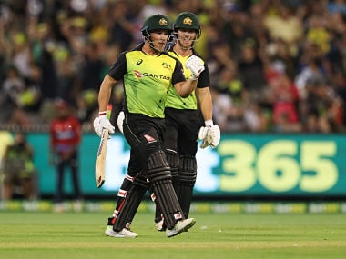 Trans-Tasman T20 Tri-Series: Australia cruise to seven-wicket win against England to book spot in final