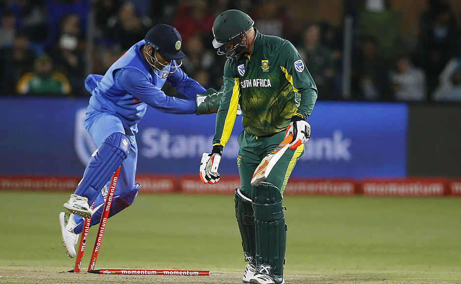 Heinrich Klaasen wicket off Kuldeep Yadav's wicket was the final nail in the coffin as India marched to their maiden 73-run victory in Port Elizabeth and register first-ever series win in South Africa. AFP
