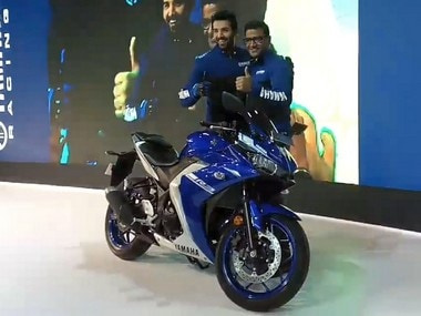 Auto Expo 2018: Yamaha YZF-R3 makes a comeback with BS IV engine, dual-channel ABS at Rs 3.48 lakh