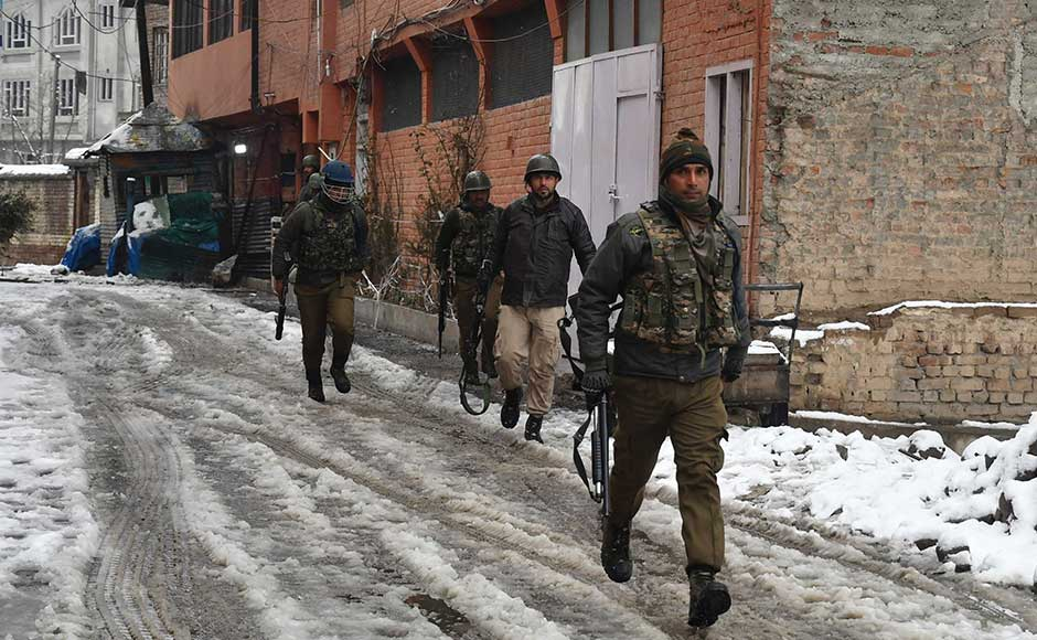 The jawan, belonging to 49 Battalion of the Central Reserve Police Force (CRPF), suffered injuries in the gunfight and died hours later, officials said. Firstpost/Sameer Mushtaq