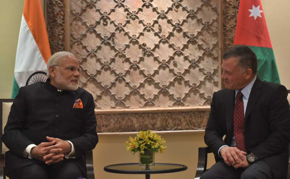 During the meeting, Modi told the king that he is looking forward to his visit to India in February end. The king, meanwhile, described the meeting as the beginning of a new chapter in the bilateral ties. Twitter@narendramodi