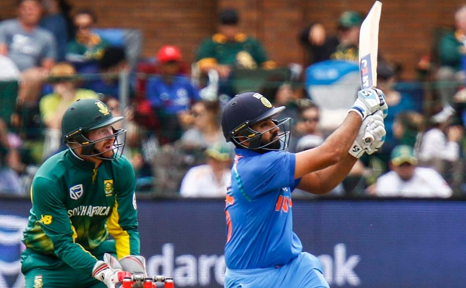Rohit Sharma smashed 11 fours and 4 sixes in his magnificent knock off 115 and help India set a competitive target of 275. PTI