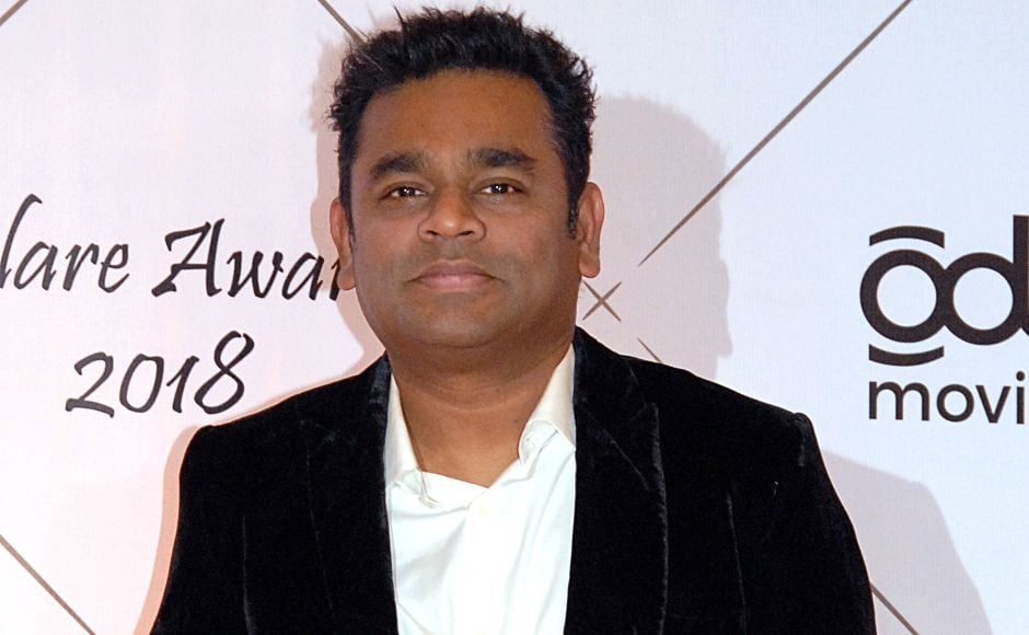 Oscar-winning music composer AR Rahman attends the ceremony in Mumbai. It was organised by the Italian Consul General and the Italian Embassy. AFP