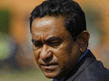 File image of Maldives President Abdulla Yameen. Reuters