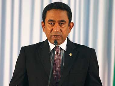 File image of President of Maldives Abdulla Yameen. Reuters