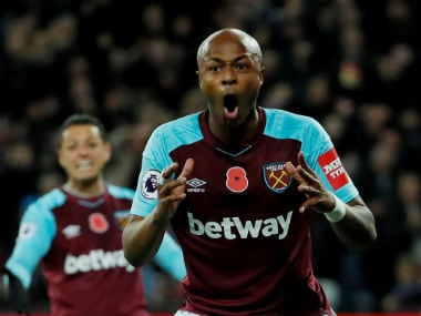 File image of Andre Ayew. AFP
