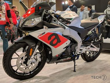 Auto Expo 2018: Aprilia SR 125 scooter launched at Rs 63,310 along with the unveiling of Tuono, RS150 and Storm