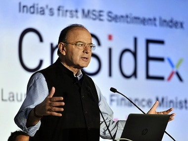 A file image of FM Arun Jaitley. PTI.