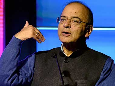 Union Finance Minister Arun Jaitley. PTI image