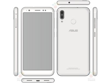 Asus ZenFone 5 spotted online before expected launch at MWC 2018; sports a vertically aligned dual camera setup