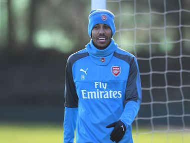 Pierre-Emerick Aubameyang recently joined Arsenal from Borussia Dortmund. Image courtesy: Twitter @Arsenal