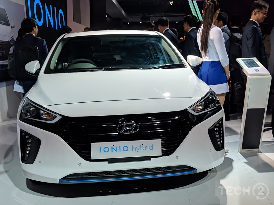 Auto Expo 2018: Here is what the Hyundai Ioniq hybrid looks like in the real world