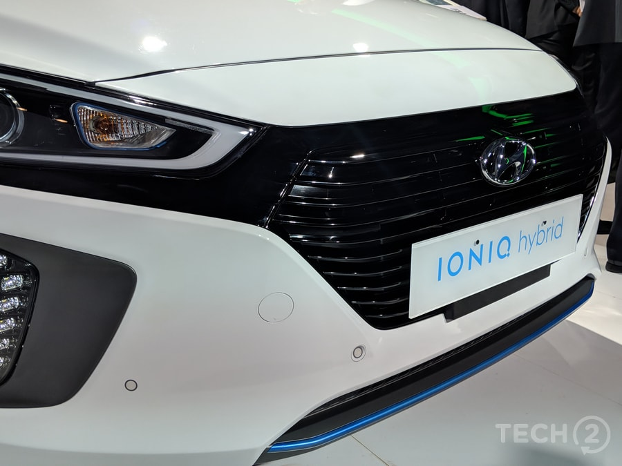 All three versions were available at Hyundai's 'Eco-Friendly Zone' which would be one of the carmaker's nine zones on display. Image: tech2/Ankit Vengurlekar