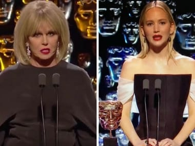 BAFTA 2018: Jennifer Lawrence called 'rude' on social media after jibe at host Joanna Lumley
