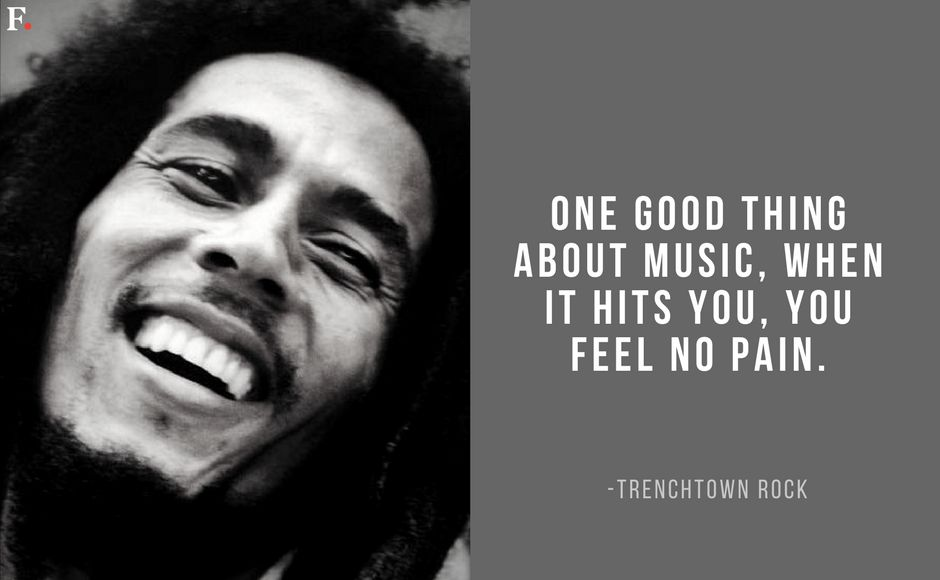 On Bob Marley's 73rd birth anniversary, a look at some of the reggae legend's most inspiring words