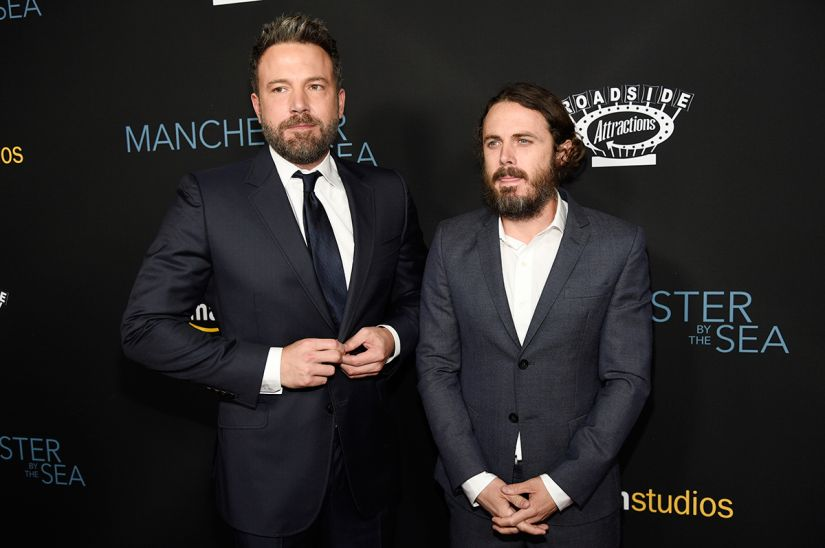 Ben and Casey Affleck. AP