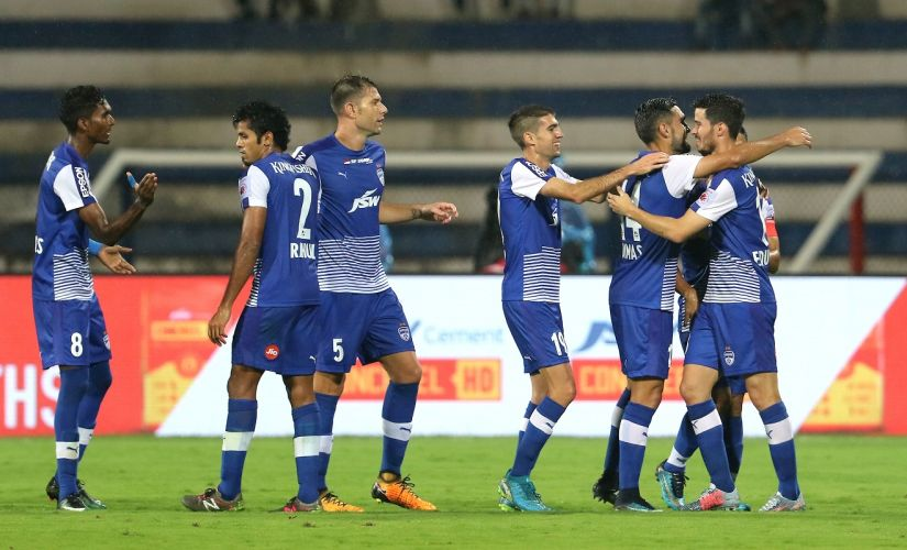 Bengaluru FC qualified for the semi-finals of the ISL with a win over FC Goa. Image Courtesy: ISL