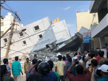 Bengaluru: Five-floor under-construction building collapses in Kasavanahalli killing 3; at least 15 feared trapped