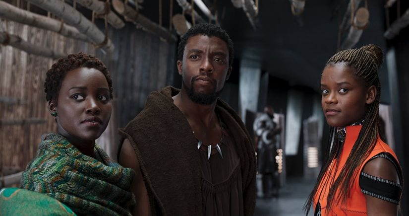 A still from Black Panther. Marvel Studios