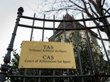 The Court of Arbitration for Sport (CAS). AFP
