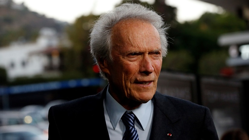"""Director of the movie Clint Eastwood poses at the premiere of """"Sully"""" in Los Angeles, California U.S., September 8, 2016. REUTERS/Mario Anzuoni - S1AEUAFYZIAC"""