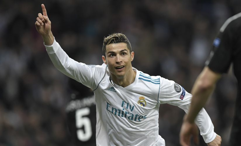 Cristiano Ronaldo scored a brace to give Real Madrid a 3-1 win over PSG at the Santiago Bernabeu. AFP