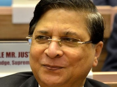 File image of Chief Justice of India Dipak Misra. PTI