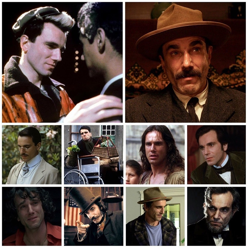 The many faces of Daniel Day-Lewis
