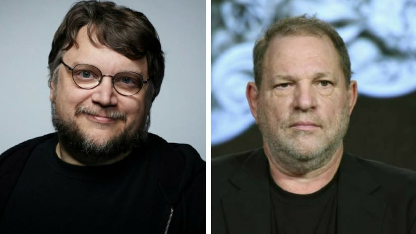 Guillermo del Toro (left) and Harvey Weinstein (right). Facebook
