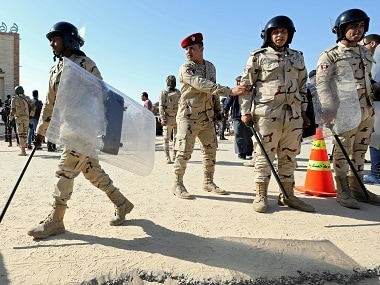 Egypt military forces in Sinai. Reuters
