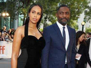 Idris Elba proposes to his girlfriend Sabrina Dhowre at London screening of his new film, Yardie