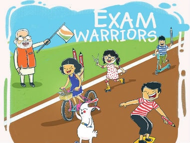Cover of Narendra Modi's book 'Exam Warriors'. Image courtesy: @examwarriors/Twitter