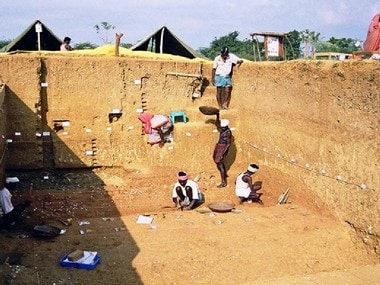 The excavation site in Tamil Nadu. Sharma Centre for Heritage Education