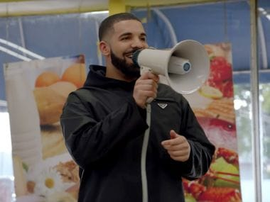 Drake donates $1 million to struggling Miami residents on set of his God's Plan music video