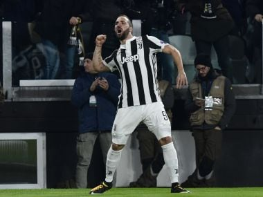Champions League: Juventus' Gonzalo Higuain expected to be fit to face Tottenham Hotspur in last-16 second leg tie