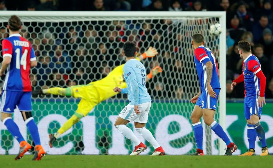 Gundogan killed the match with a curler from outside the box 10 minutes into the second half. Reuters