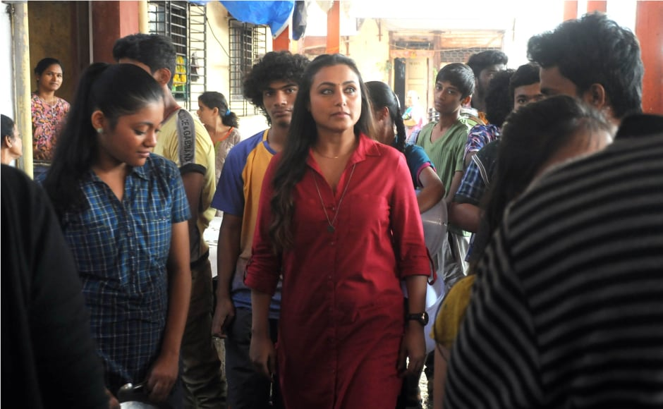 Behind-the-scenes of a song shoot for Hichki. Photo by: Firstpost/Sachin Gokhale