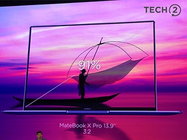 The MateBook X Pro was unveiled at MWC 2018