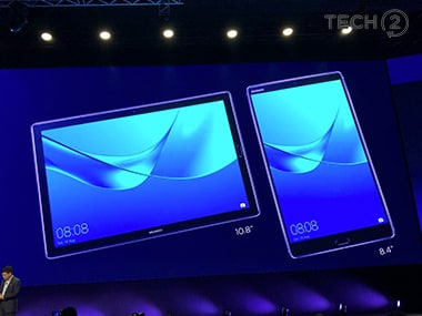Three models of the MediaPad M5 will be available.