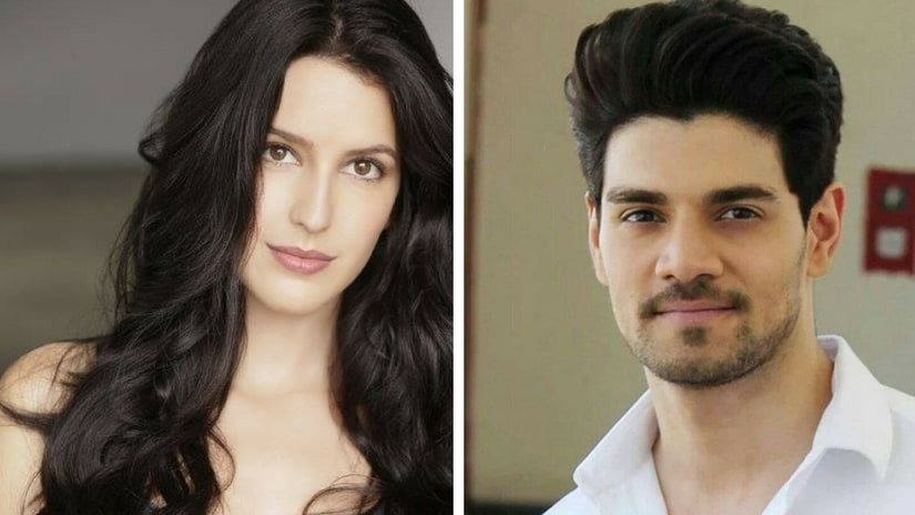 Isabelle Kaif (left) and Sooraj Pancholi (right). Facebook