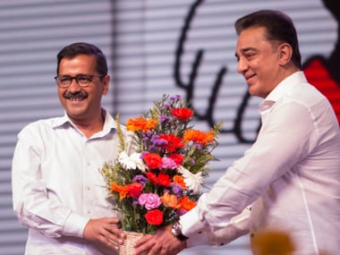 Charged up Kamal Haasan launches Makkal Needhi Maiam party, targets corruption, eyes southern coalition
