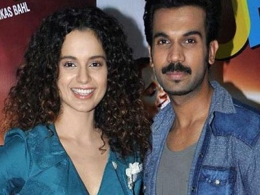 Kangana Ranaut, Rajkummar Rao to reunite on screen after Queen for a psychological thriller