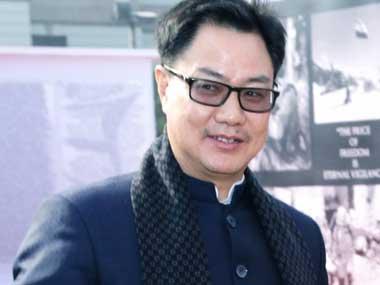 Nagaland Assembly polls: Kiren Rijiju says BJP won't come in way of 'smooth implementation' of Naga accord