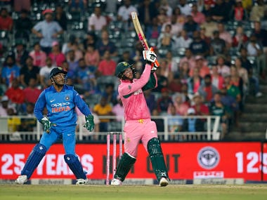 India vs South Africa: Shikhar Dhawan's ton goes in vain as Proteas win 4th ODI, keep series alive at 3-1
