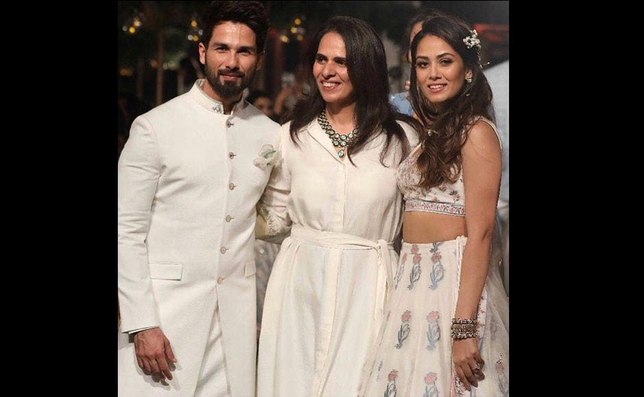 Lakmé Fashion Week 2018: Shahid Kapoor, Mira Rajput are showstoppers for Anita Dongre