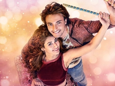 Loveratri poster features Aayush Sharma, Warina Hussain look smitten in love; film to release on 21 September