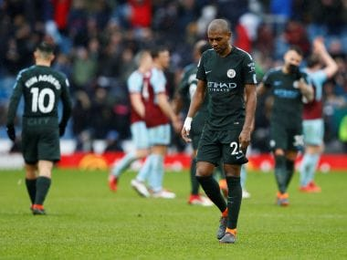 Manchester City were pegged back as Burnley salvaged a point against the league leaders. AFP